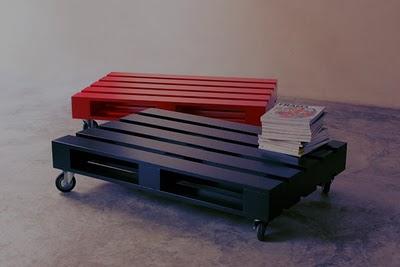 paletes de mesa