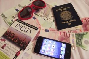 Documentos necessários para viajar.
