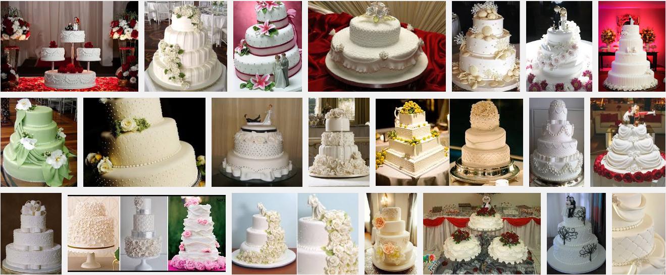 Modelos de bolos para casamento