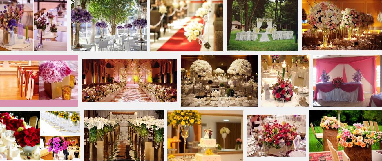 arranjos de flores para decorar o seu casamento