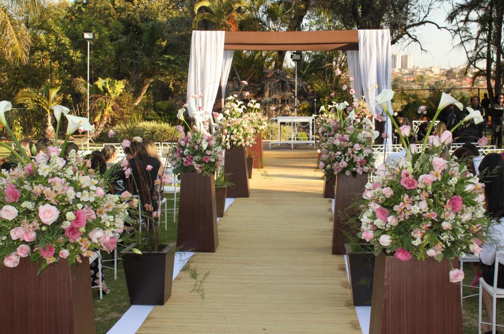 casamento no campo decoração