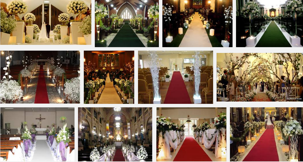 fotos de Decoração de igreja para casamento