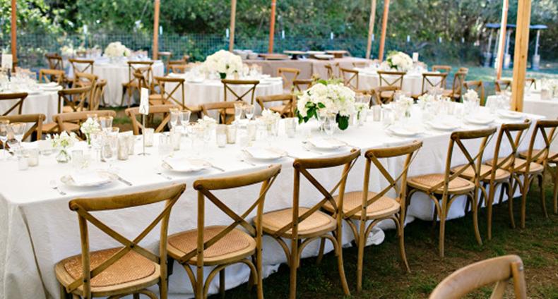 mesas e cadeiras para casamento