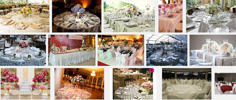 toalhas de mesa para casamento