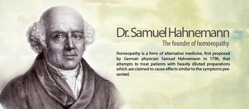 Dr Samuel Hahnemann