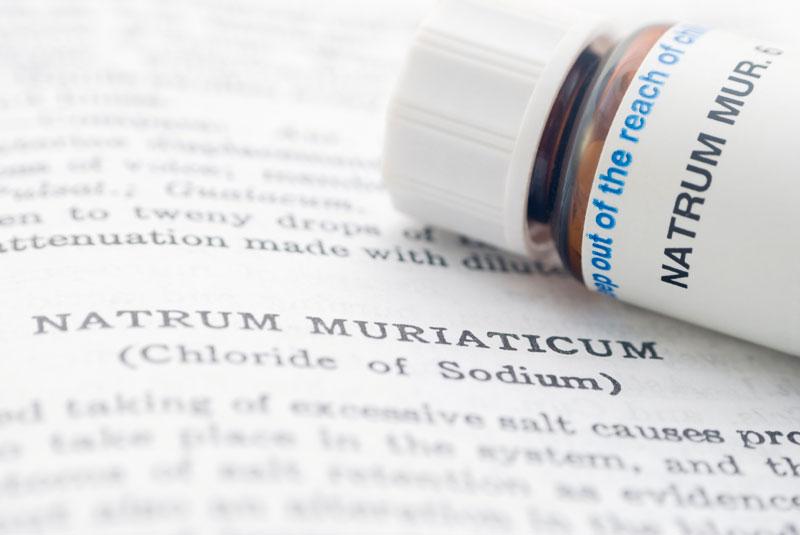 remédio homeopático Natrum Muriaticum